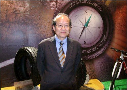 SUV轮胎市场空间广阔 腾讯汽车专访金原雄次郎