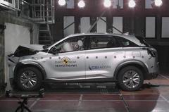 现代Nexo氢燃料电池SUV欧洲获最高安全评级