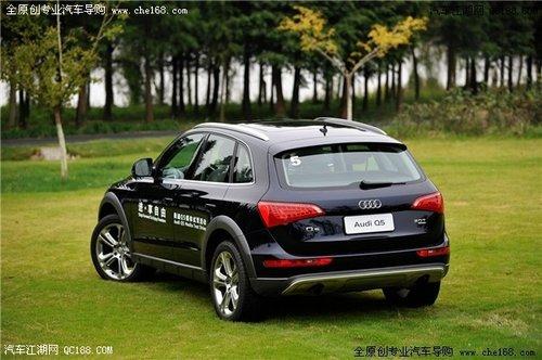 风格迥异的豪华SUV新贵 奥迪Q5对比SRX
