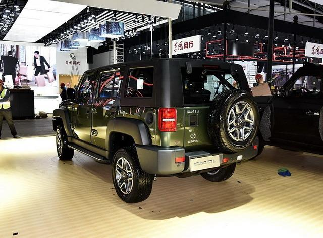 北京BJ40柴油版1月上市 最大功率150马力