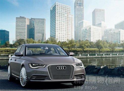 目标新能源 奥迪发布A6L e-tron概念车