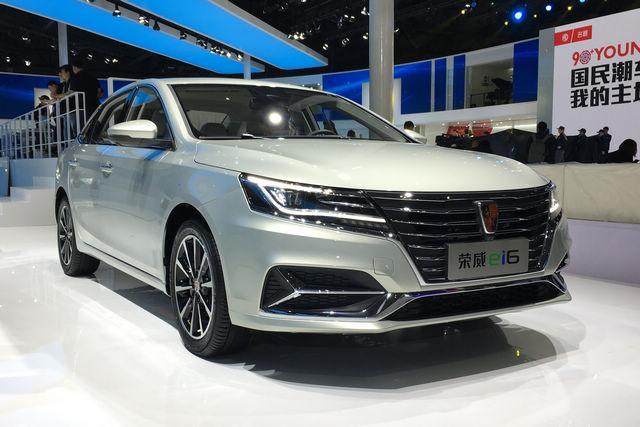 上海车展探营:荣威i6 16T及ei6将正式上市
