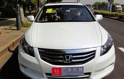 2011款2.4EX珍珠白至尊版提车