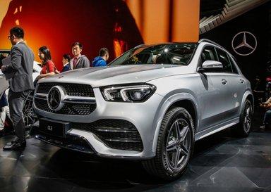 豪华中大SUV再加大 奔驰GLE加入更多科技元素