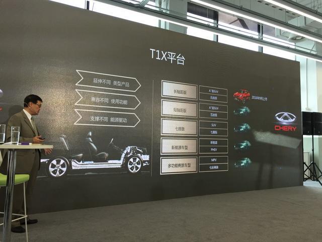 1.6T+7DCT超强组合上阵 奇瑞全新SUV将表态