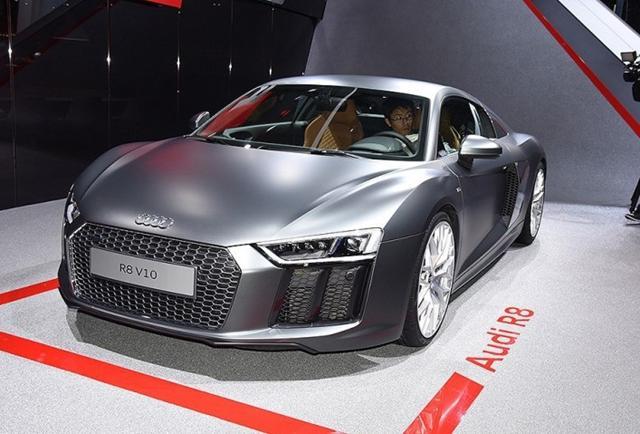 奥迪上海车展阵容 X17概念车/R8新车型等