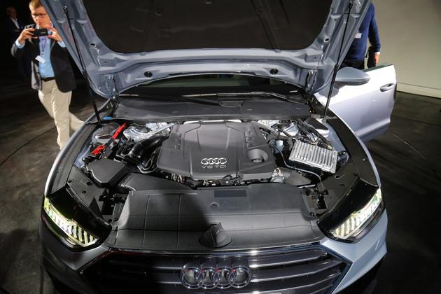 奧迪全新A7或將12月12日上市 預售81-88萬元