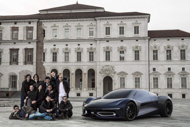 谁说国人设计不了!中国女留学生打造900马力超跑