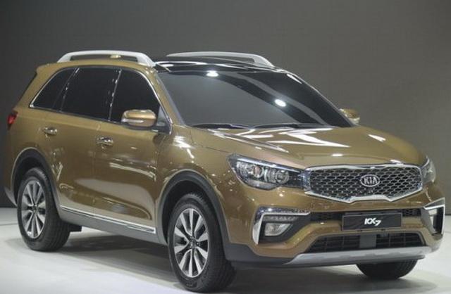 东风悦达起亚KX7首发 七座SUV新选择高清图片