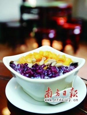 广州名吃:双皮奶(图)