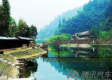 秭归的自然氧吧 秀美竹乡在泗溪