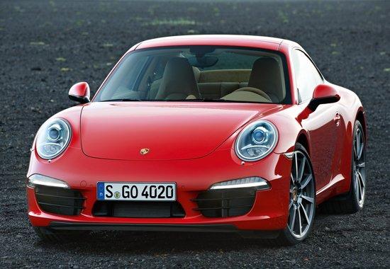 保时捷新一代911官方图片发布 车身更修长