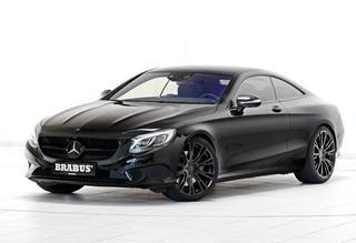 搏速推奔驰S500 Coupe改装车 暗黑设计