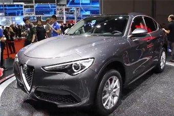 阿尔法・罗密欧首款SUV亮相上海车展!