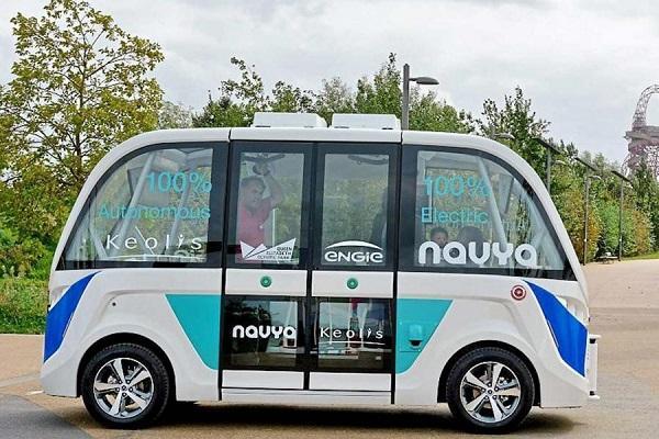 伦敦开测纯电无人驾驶公交车:免费搭乘、可载15人