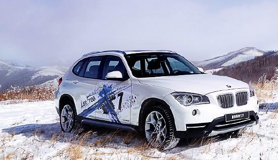 踏雪攻山 冰雪试驾宝马X1 xDrive20i