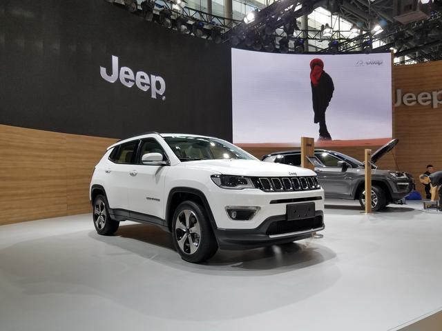 广州车展探营:广汽菲克Jeep指南者亮相展馆