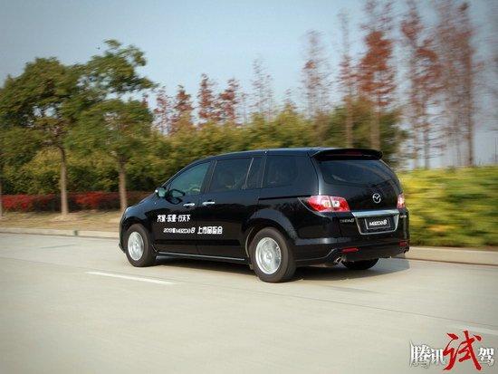 腾讯试驾2013款一汽马自达8 诚意的升级