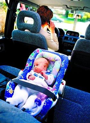送孩子乘车安全 六一买个儿童座椅给宝宝