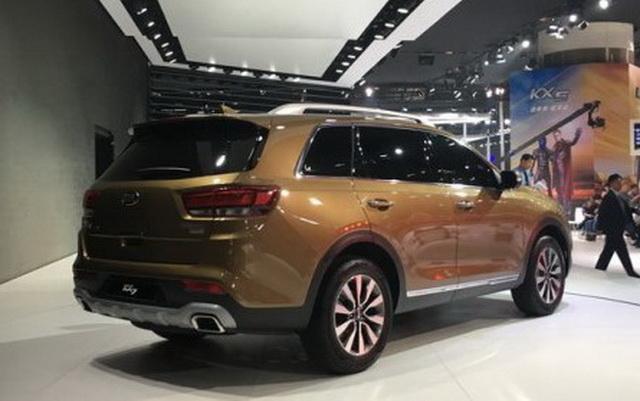 东风悦达起亚KX7首发 七座SUV新选择