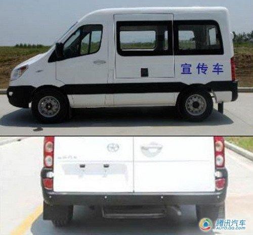 江淮瑞风商务车谍照曝光 脸谱造型改变