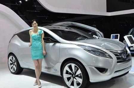 现代Nuvis概念车 2010广州车展首发亮相