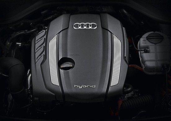 全新奥迪A8L混合动力版北京车展首次亮相