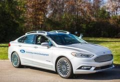 自动驾驶耗能大 福特车队新增20辆混动Fusion
