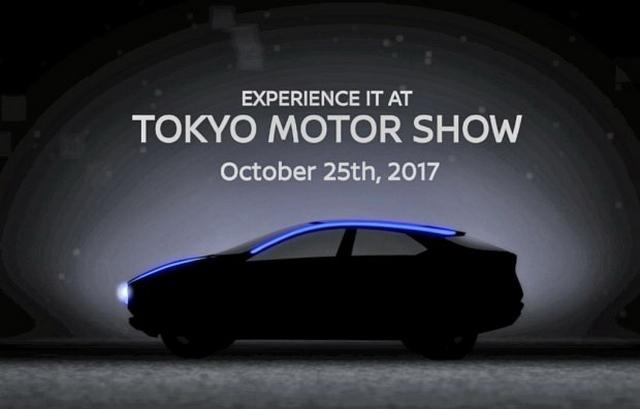 日产新观点车预告 将亮相2017东京车展