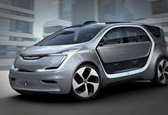 克莱斯勒CES发布电动概念车 电梯式车门开合