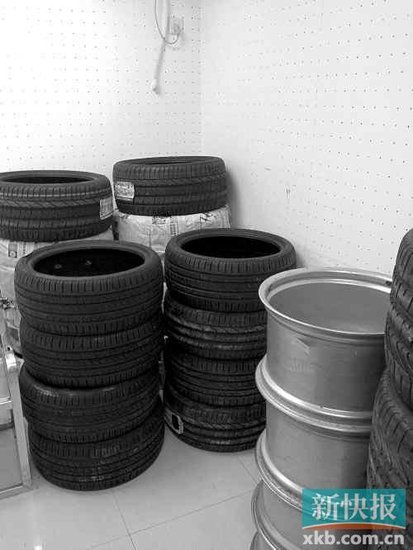 兰博基尼车队在华训练 大赛在即轮胎被偷