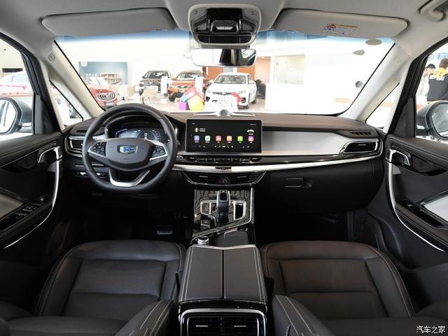 吉利汽车 嘉际 2019款 1.5TD MHEV 尊享型