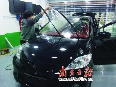 盛夏将至汽车贴膜需及时 个别产品开始涨价