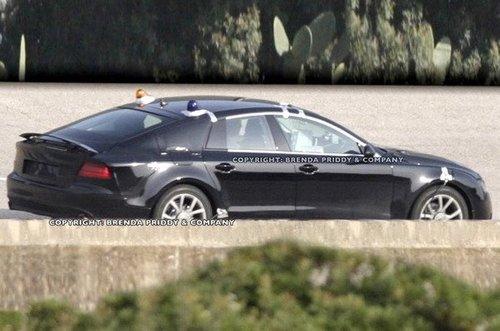 7月慕尼黑全球首发 奥迪A7合成图再曝光