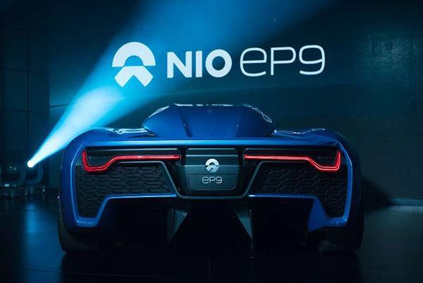 全球最快电动汽车蔚来EP9伦敦发布