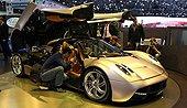 帕加尼新超跑Huayra_日内瓦车展_腾讯汽车