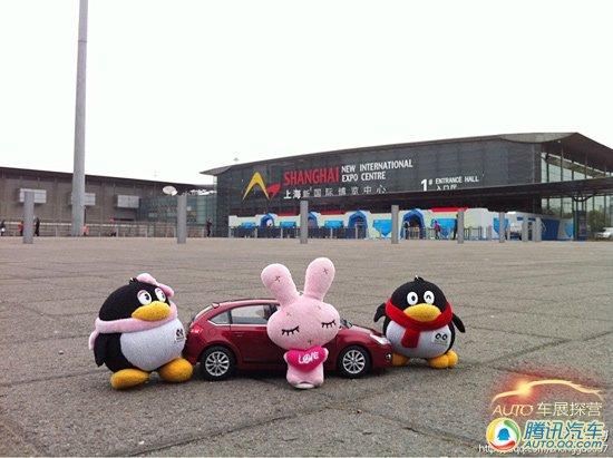 """独家体验 粉粉带您一起上海车展""""微观探营"""""""