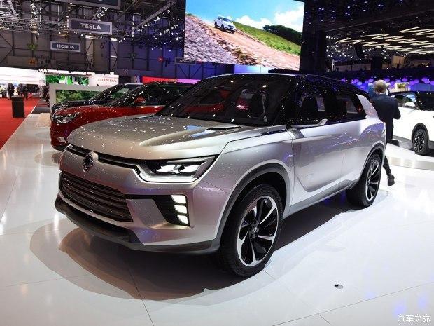 双龙2019年推纯电动SUV