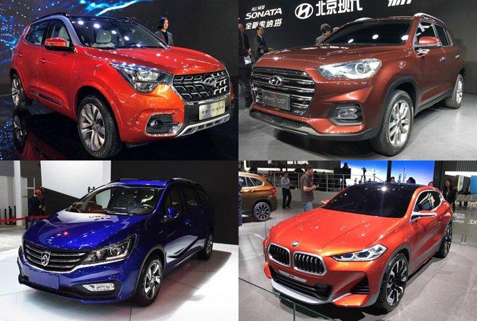 2017上海国际车展首发新车汇总大盘点