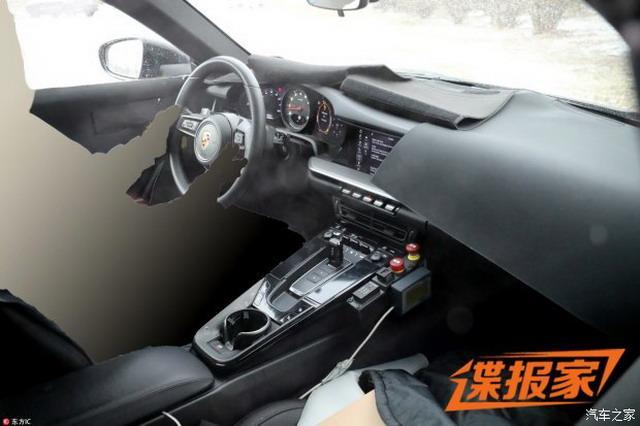 传承经典 全新保时捷911最新谍照曝光