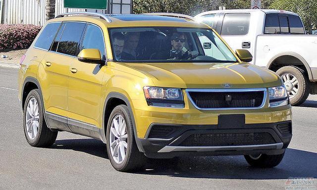 大众在美国投产全新七座SUV 未来引入中国