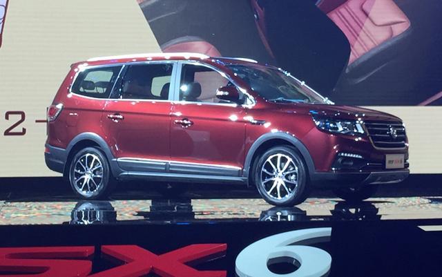 东风风行7座SUV SX6上市 售价6.99 10.29万元高清图片