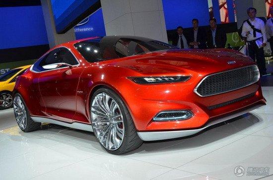 福特Evos Concept概念车首发 极具未来感