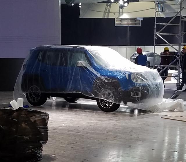 2017上海车展探营:Jeep自由侠敞篷版进馆