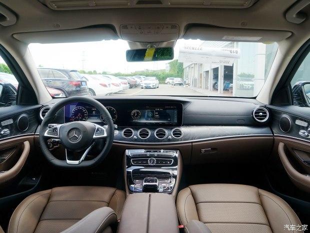 北京奔驰 奔驰E级 2016款 E 300 L 运动时尚型
