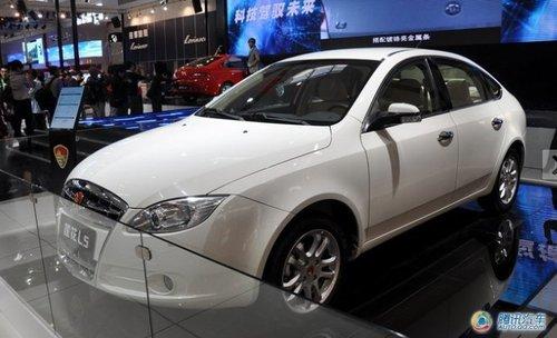 莲花汽车L5广州车展上市 或售10万左右起