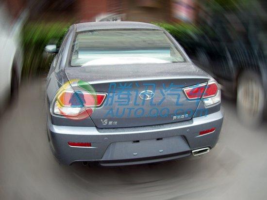 东南汽车改款v3菱悦曝光 明年一季度推出高清图片
