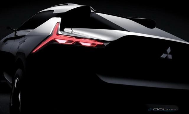 三菱e-EVOLUTION新预告图 将亮相东京车展