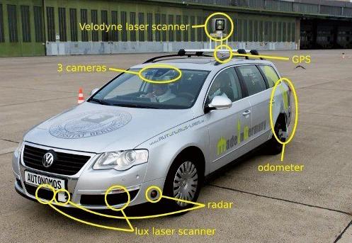 谷歌创始人之一布林认为,无人驾驶汽车比有人驾驶汽车更安高清图片
