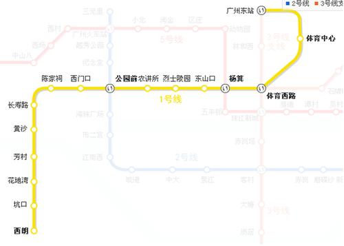 广州地铁一号线(图)